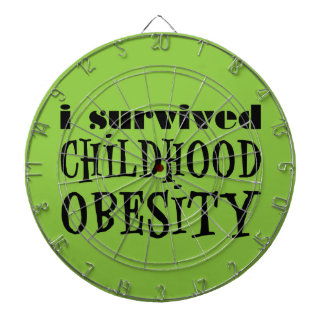 I Survived Childhood Obesity Dartboards