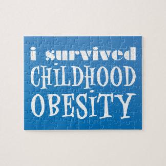 I survived Childhood Obesity Jigsaw Puzzle