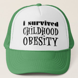 I Survived Childhood Obesity Trucker Hat