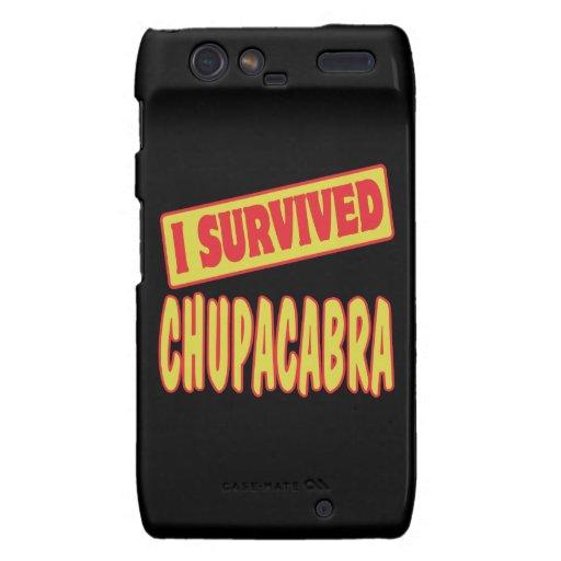 I SURVIVED CHUPACABRA DROID RAZR COVERS