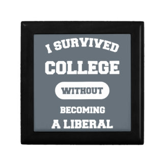 I Survived College Without Becoming A Liberal Jewelry Box