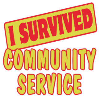 I SURVIVED COMMUNITY SERVICE PHOTO CUT OUT