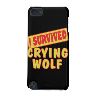 I SURVIVED CRYING WOLF iPod TOUCH (5TH GENERATION) COVERS