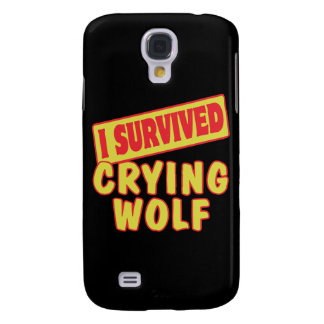 I SURVIVED CRYING WOLF GALAXY S4 COVERS