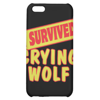 I SURVIVED CRYING WOLF CASE FOR iPhone 5C
