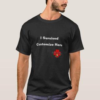 I Survived Customize - Survivor Jewelry Logo T-Shirt