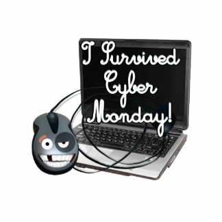 I survived Cyber Monday Acrylic Cut Outs