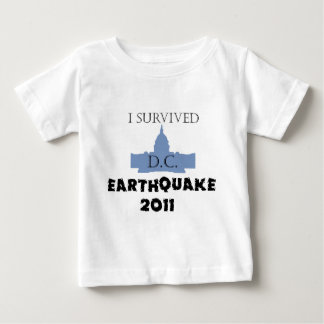 I survived D.C. Earthquake 2011 Tee Shirt