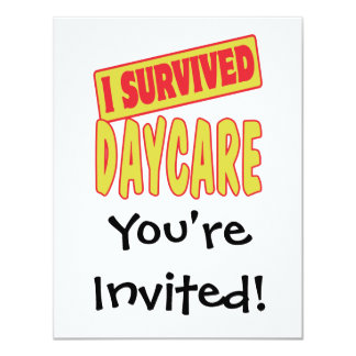 I SURVIVED DAYCARE CARD