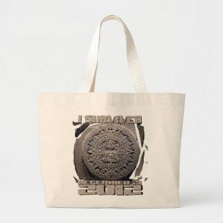 I SURVIVED December 21 2012 Jumbo Tote Bag