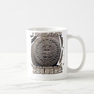 I SURVIVED December 21 2012 Classic White Coffee Mug