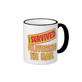 I SURVIVED DELIVERING THE MAIL COFFEE MUG