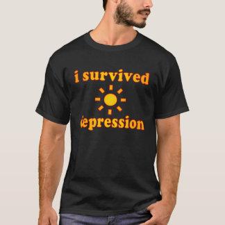 I Survived Depression Mental Health Happiness T-Shirt