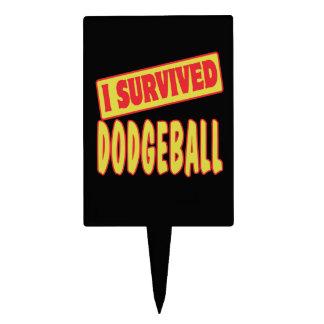 I SURVIVED DODGEBALL CAKE TOPPERS