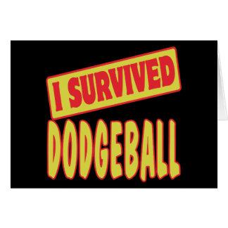 I SURVIVED DODGEBALL CARD