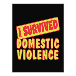 I SURVIVED DOMESTIC VIOLENCE ANNOUNCEMENT