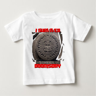I SURVIVED DOOMSDAY 2012 cool Baby T-Shirt