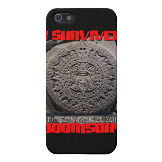 I SURVIVED DOOMSDAY 2012 cool Cases For iPhone 5