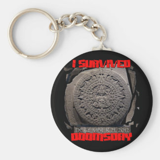 I SURVIVED DOOMSDAY 2012 cool Key Chain