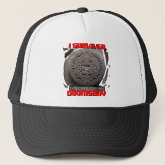 I SURVIVED DOOMSDAY 2012 cool Trucker Hat
