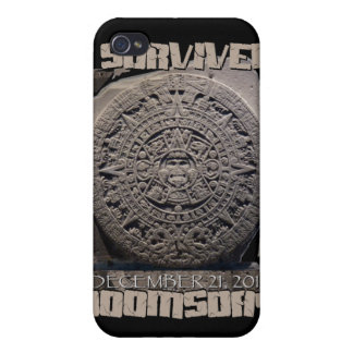 I SURVIVED DOOMSDAY 2012 iPhone 4 COVER