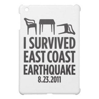 I Survived East Coast Earthquake iPad Mini Covers