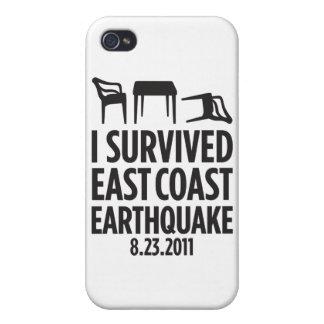 I Survived East Coast Earthquake iPhone 4 Cover