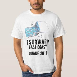 I SURVIVED EAST COAST QUAKE 2011 SHIRT! T-Shirt