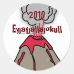 I Survived Eyjafjallajokull Classic Round Sticker