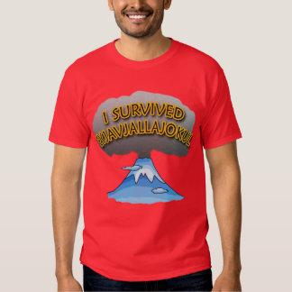 I Survived Eyjafjallajokull Volcano Tshirt