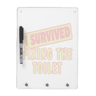 I SURVIVED FIXING THE TOILET Dry-Erase BOARD