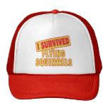 I SURVIVED FLYING SQUIRRELS TRUCKER HAT
