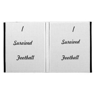 I survived Football iPad Folio Cases