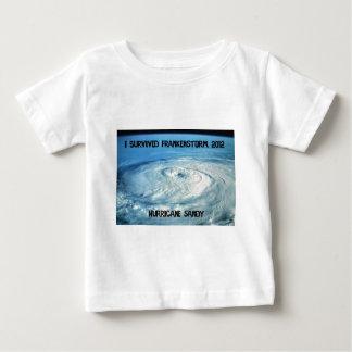 I Survived Frankenstorm 2012! Baby T-Shirt