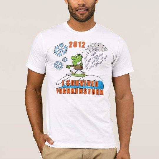 I Survived Frankenstorm 2012 T-Shirt