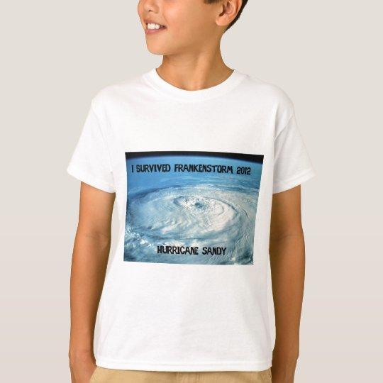 I Survived Frankenstorm 2012! T-Shirt