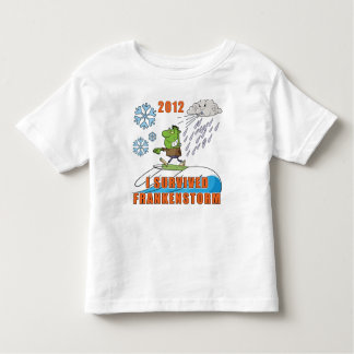 I Survived Frankenstorm 2012 Tee Shirt