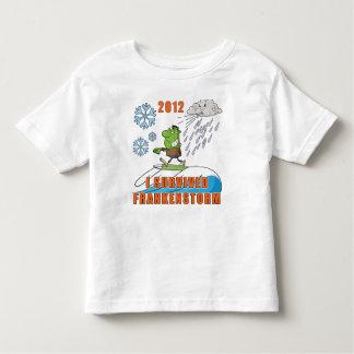 I Survived Frankenstorm 2012 Toddler T-shirt