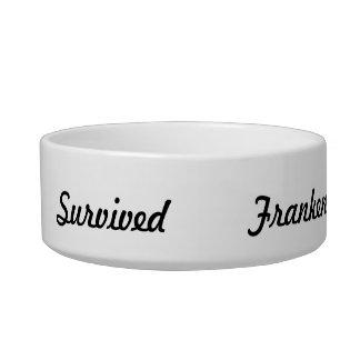 I survived Frankenstorm! Bowl