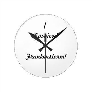 I survived Frankenstorm! Round Wallclock