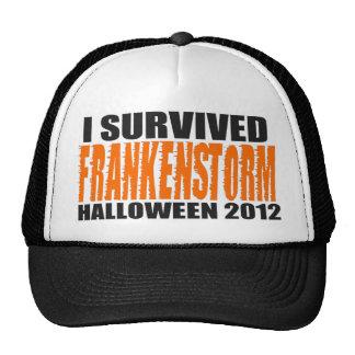 I Survived FRANKENSTORM Halloween 2012 Hat