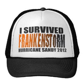 I Survived FRANKENSTORM Hurricane Sandy 2012 Hat