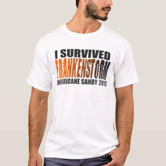 I Survived FRANKENSTORM Hurricane Sandy 2012 Shirt