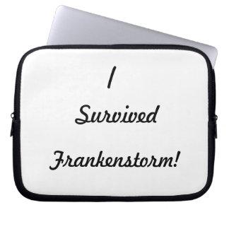 I survived Frankenstorm! Laptop Sleeves