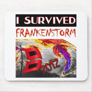 I SURVIVED FRANKENSTORM The storm of 2012 Mouse Pad