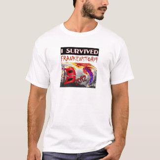 I SURVIVED FRANKENSTORM The storm of 2012 T-Shirt