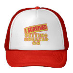 I SURVIVED GETTING SNEEZED ON TRUCKER HAT