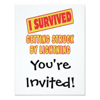 I SURVIVED GETTING STRUCK BY LIGHTNING CARD