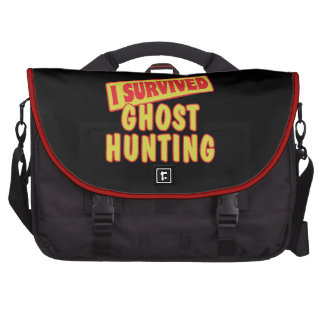 I SURVIVED GHOST HUNTING LAPTOP BAGS
