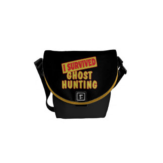 I SURVIVED GHOST HUNTING COURIER BAG